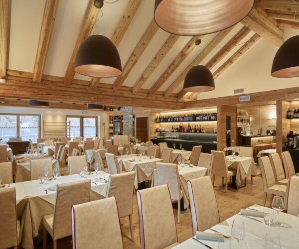 sala pranzo alalagna montain resort & spa
