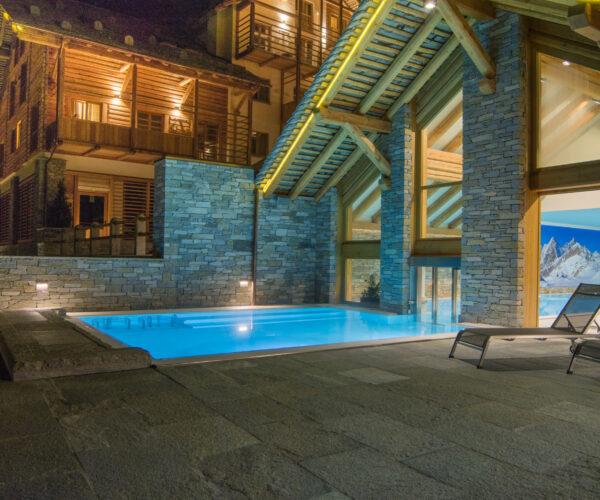 piscina alagna mountain resort & spa