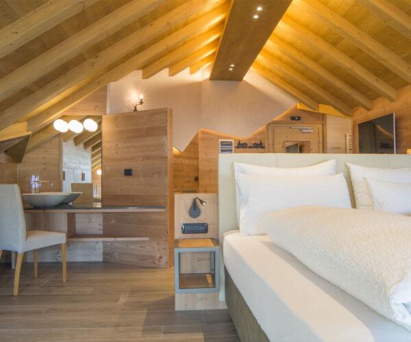 camera da letto hotel amerikan livigno